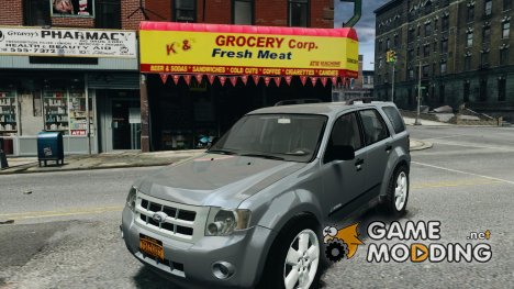 Ford Escape 2011 Hybrid Civilian Version v1.0 для GTA 4