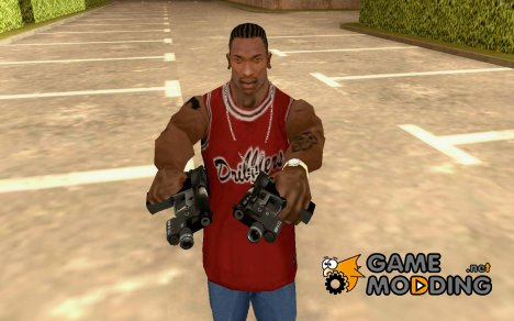 Gun from left4dead 2 для GTA San Andreas