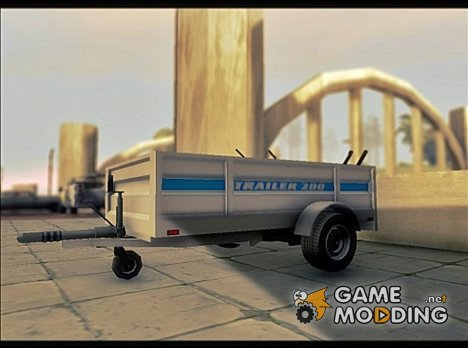 GTA V Utility Trailer (v.1.0) for GTA San Andreas