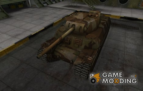 Шкурка для американского танка T1 Heavy for World of Tanks