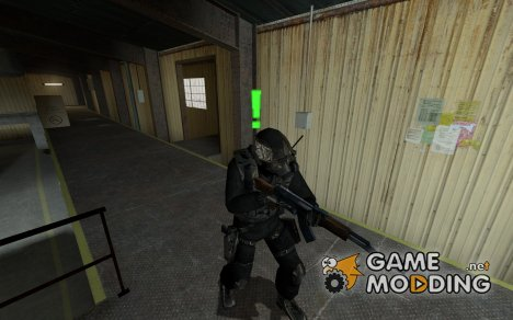 black_and_hrome_SAS for Counter-Strike Source