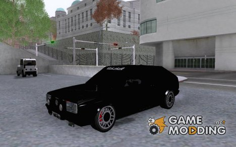 VW GOL GT 1.8 1986 for GTA San Andreas