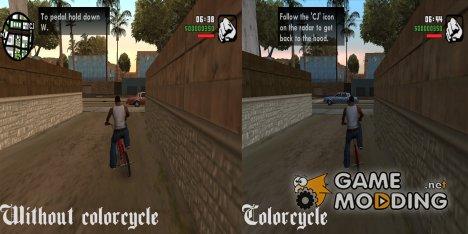 Цветовая палитра из GTA SA Mobile for GTA San Andreas