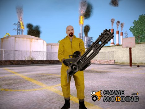 Breaking Bad Walter White Chemsuit для GTA San Andreas