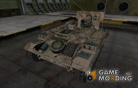 Французкий скин для AMX 13 F3 AM для World of Tanks
