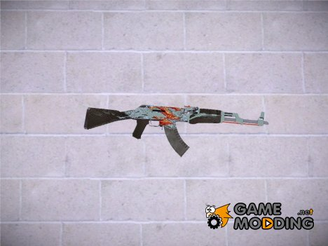 CSGO AK47  Aquamarine Revenge for GTA San Andreas