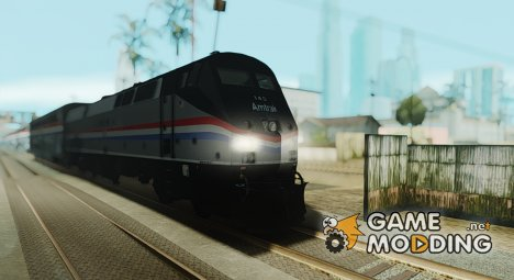 Пассажирский локомотив GE P42DC Amtrak Phase III 40th Anniversary для GTA San Andreas