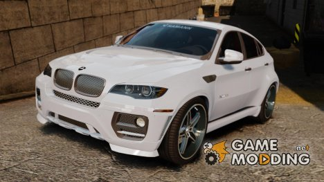 BMW X6 Hamann Evo22 no Carbon for GTA 4