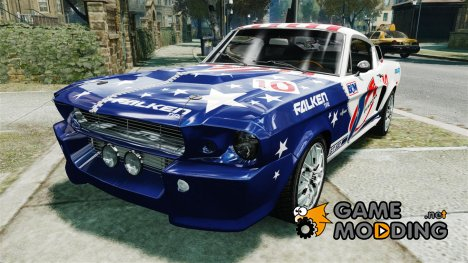 Ford Shelby Mustang GT500 Eleanor для GTA 4