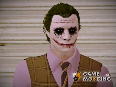 Joker Skin HD GTA V Style for GTA San Andreas