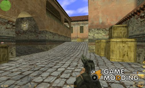 Stoke's Desert Eagle On BrainCollector Animations для Counter-Strike 1.6