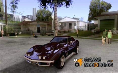 Chevrolet Corvette '68 Stingray для GTA San Andreas