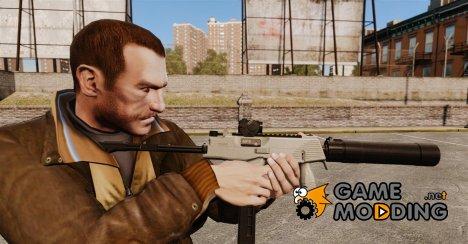 Тактический пистолет-пулемёт MP9 v3 для GTA 4