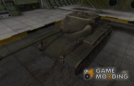 Шкурка для американского танка T69 for World of Tanks