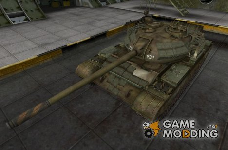 Шкурка для Type 59 (remodel + camo) для World of Tanks