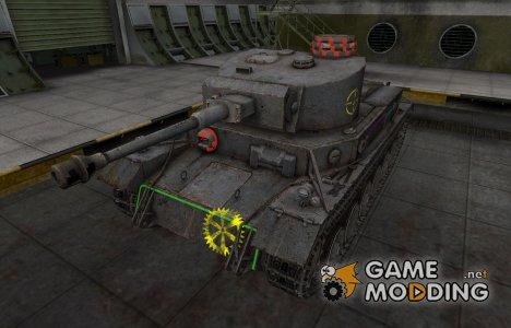 Контурные зоны пробития VK 30.01 (P) для World of Tanks