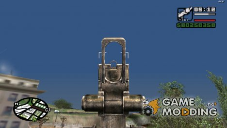 RPG-7 Scope для GTA San Andreas