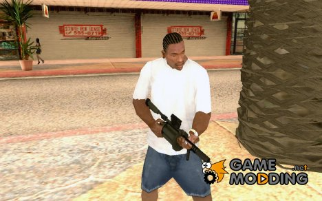 Milkor MGL-140 Grenade Launcher for GTA San Andreas