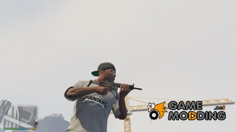 PAYDAY 2 MP5SD6 1.9.1 for GTA 5