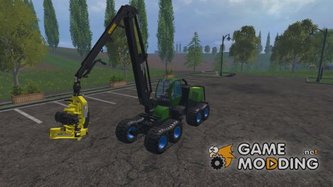 John Deere 1270E для Farming Simulator 2015