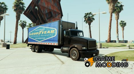 Goodyear Pounder Paintjob для GTA 5