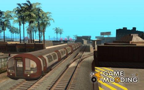 London Metro из MW3 для GTA San Andreas