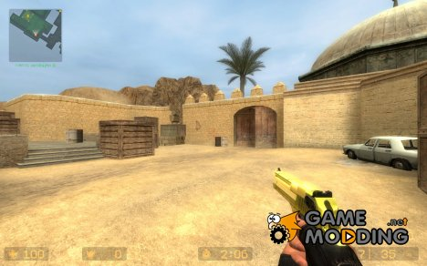 Golden Deagle (007) ^^ для Counter-Strike Source