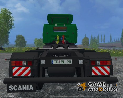 Scania ZM3A Billinger H97 v2.3 for Farming Simulator 2015