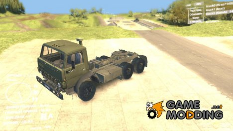 КамАЗ 5410 для Spintires DEMO 2013