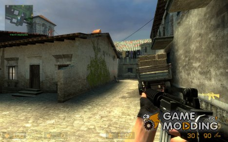 Tactical M4A1 для Counter-Strike Source