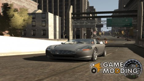 Спидометр IV (Скин 10) для GTA 4