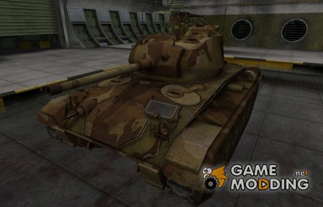 Шкурка для американского танка M24 Chaffee for World of Tanks