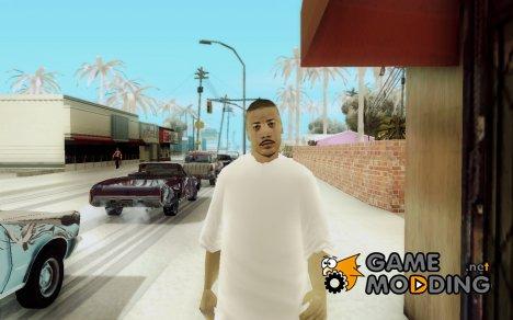 Latino (Camisa Grande Blance) для GTA San Andreas