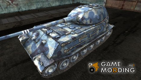 Шкурка для VK4502(P) Ausf B Winter для World of Tanks