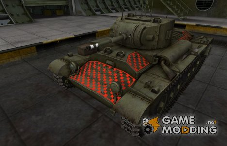 Качественные зоны пробития для Валентайн II для World of Tanks