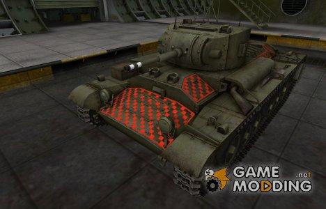 Качественные зоны пробития для Валентайн II for World of Tanks