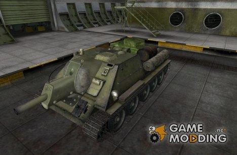 Ремоделинг для СУ-85 (СУ-122) для World of Tanks