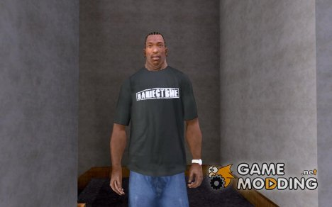 "Футболка ""Нашествие"" для GTA San Andreas"