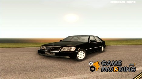 "Mercedes-Benz W140 S600(Саши Белого из ""БРИГАДЫ"") for GTA San Andreas"