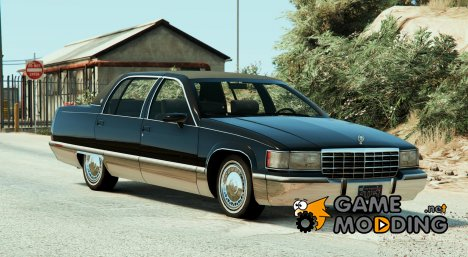 1993 Cadillac Fleetwood v2.5 for GTA 5