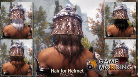 Apachii Helmet Wigs - Парики под шлемом для TES V Skyrim