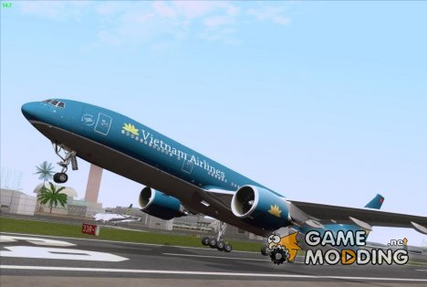 Boeing 777-2Q8ER Vietnam Airlines for GTA San Andreas