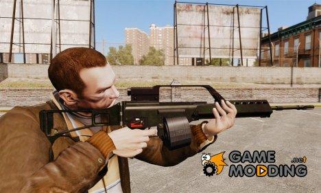 Штурмовая винтовка H&K MG36 v1 for GTA 4