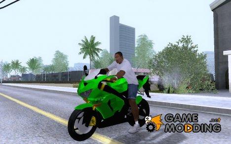 2006 Kawasaki Ninja ZX 6R for GTA San Andreas