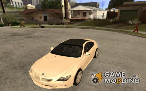 BMW M6 2010 Coupe для GTA San Andreas