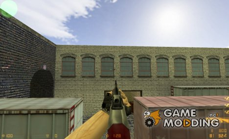 [C.] Wooden Pump Action Shotgun M3 for Counter-Strike 1.6