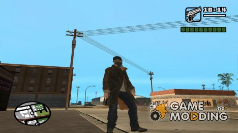 Эйден Пирс for GTA San Andreas