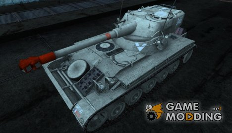 Шкурка для AMX 13 75 №29 для World of Tanks