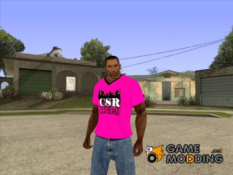CJ в футболке (CSR) for GTA San Andreas