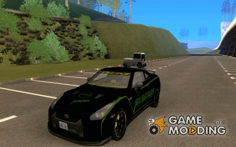 Nissan GTR 35 NFS Thailand Club для GTA San Andreas